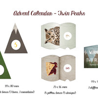 Twin Peaks Advent Calendar - DIY Calendar