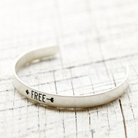With Love From CA Free Bracelet - Womens Jewelry - Silver - One