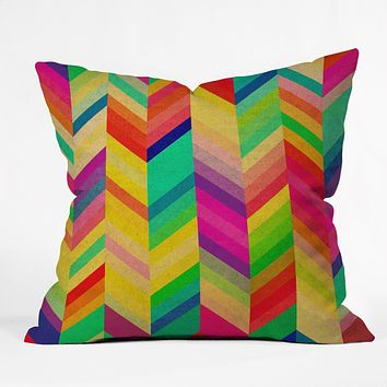 Rebecca Allen Color Quest Throw Pillow