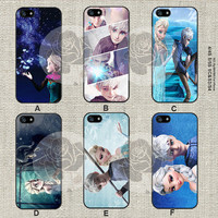 Disney frozen and jack frost iPhone 5s case, iPhone 5C Case iPhone 5 case, iPhone 4 Case Samsung Galaxy S4 case, Galaxy S3 case, ifg-000189