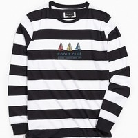 Barney Cools Club Stripe Long Sleeve Tee | Urban Outfitters