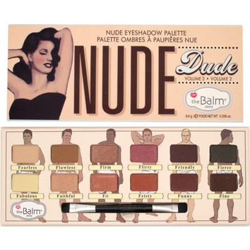 HOT The Balm Cosmetics 12 Colors Nude Dude Volume 2 Eye Shadow Palette