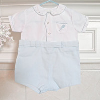 Baby Boy Feltman Bros Suit All in One Clothing 3 to 6 Month Gently Used Baby Clothes Tennis Outfit Feltman
