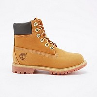 "Timberland Premium 6"" Boots in Wheat - Urban Outfitters"