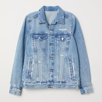 Denim Jacket - Denim blue - Ladies | H&M US