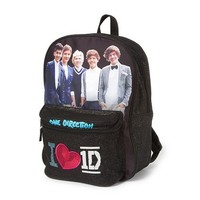 One Direction I <3 1D Glitter Backpack | Claire's