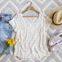 The Lace Basic Tee