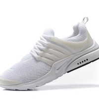 NIKE trend of running shoes casual shoes White