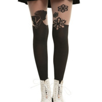 Disney Frozen Faux Thigh High Tights