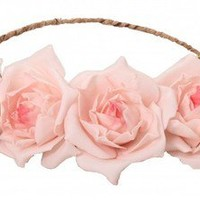 Libby Floral Head Crown Pink
