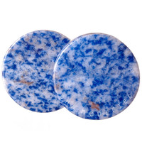 Lapis Denim Stone Plugs (3mm-38mm)