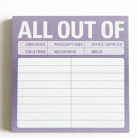 All Out Of Sticky Notes - $4.00 : ThreadSence, Women's Indie & Bohemian Clothing, Dresses, & Accessories