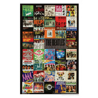 The Beatles Singles Poster on Sale for $7.99 at The Hippie Shop