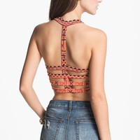 Painted Threads Cage Back Bralette (Juniors) | Nordstrom