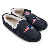 NFL New England Patriots Loafer Slippers [Men's Size 8]
