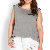 Out West Distressed Shorts