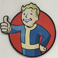 Fallout Pipboy Wall Sign