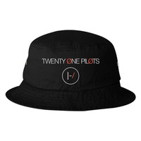 Twenty One Pilots Embroidered Bucket Hat