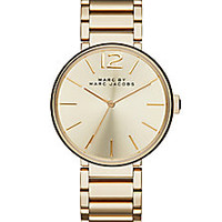 Marc by Marc Jacobs - Peggy Goldtone Stainless Steel Bracelet Watch - Saks Fifth Avenue Mobile