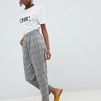 Vero Moda Petite Check PANTS at asos.com