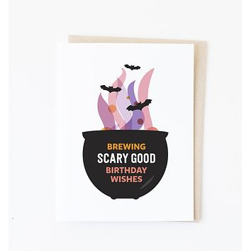 Scary Good Birthday card
