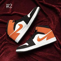 Air Jordan 1 basketball shoes men's and women's sneakers high-top sneakers shoes