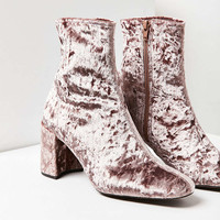 Jeffrey Campbell Cienega-Lo Velvet Boot - Urban Outfitters