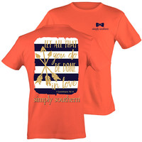 Simply Southern Preppy Be Done In Love Arrows T-Shirt