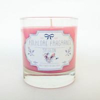 Sylveon - Pokemon Inspired Scented Soy Candle (Candy Floss)