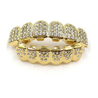 Gold Plated Icey Grillz