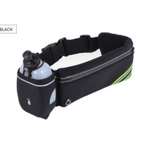 Sports gym bag Waterproof Running Waist Bag For Women Men Sports Hydration Belt Bag Running Jogging Gym Waist Pack With 1 Bottle 4 Colors KO_5_1