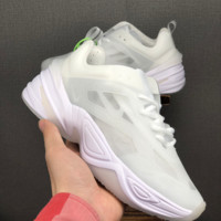 HCXX 19June 1232 Nike  M2K Tekno Mesh Breatable retro casual sports travel shoes white