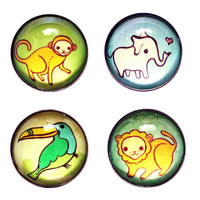 Jungle Animal Magnets