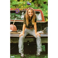 Britney Spears Country Girl 1999 Poster 22x34