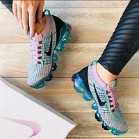Bunchsun Nike AIR VAPORMAX FLYKNIT Fashion Women Breathable Air Cushion Shoes Sneakers