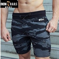 Men Gyms Shorts For Bodybuilding Loose and Comfortable Workout Shorts Cotton High Elastic Shorts