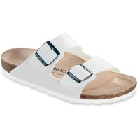 Birkenstock Classic, Arizona, Regular Fit, Leather, White