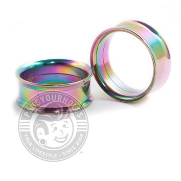 Oil Slick Internally Threaded Steel Tunnels