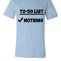 To-Do List - Unisex T-shirt