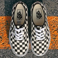 Vans Checkerboard Authentic Sneaker
