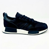 Adidas Originals Boston Super X R1 Boost Black White Mens NMD EE3654