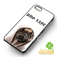 Pug Life - zzDzz for  iPhone 4/4S/5/5S/5C/6/6+s,Samsung S3/S4/S5/S6 Regular/S6 Edge,Samsung Note 3/4