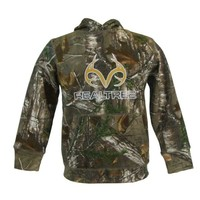 Realtree Youth RT Gold Antlers RT Xtra Camo Hoodie Sweatshirt
