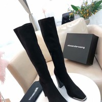 Alexander Wang  Women Casual Shoes Boots  fashionable casual leather