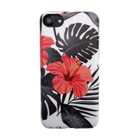 Floral Case for iPhone 8 / 7 - Phantom Hibiscus