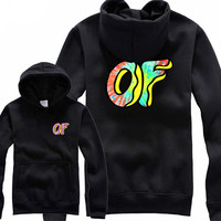 Odd Future Awesome Donut Black Hoodie