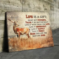 Life is a Gift Canvas Set