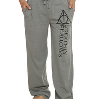 Harry Potter Deathly Hallows Guys Pajama Pants