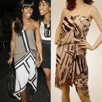 Sexy unique kelly rowland Cocktail dress