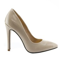Beverly Nude Heels - Jaide Clothing